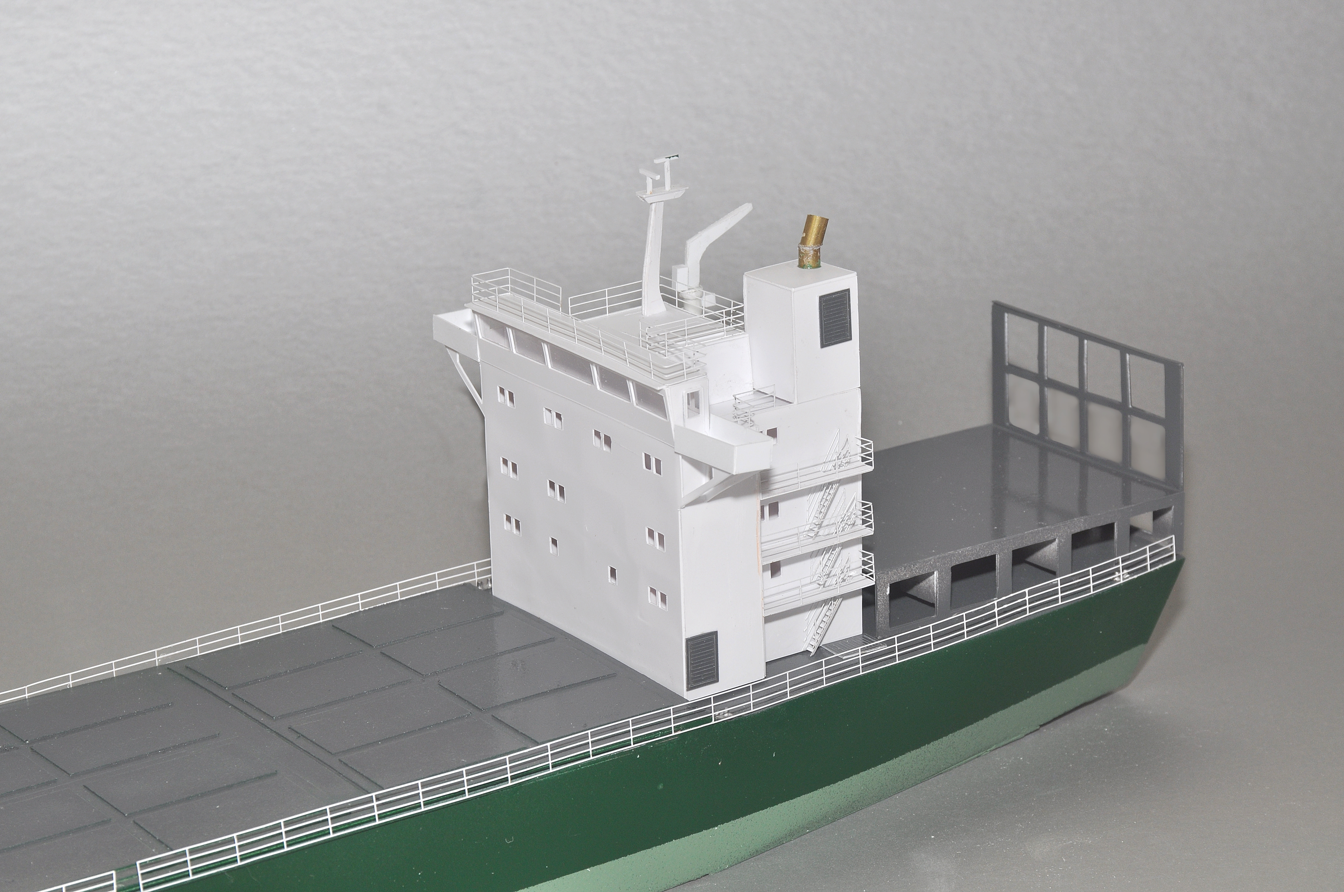 487 First Generation Container Ship N Scale Ships