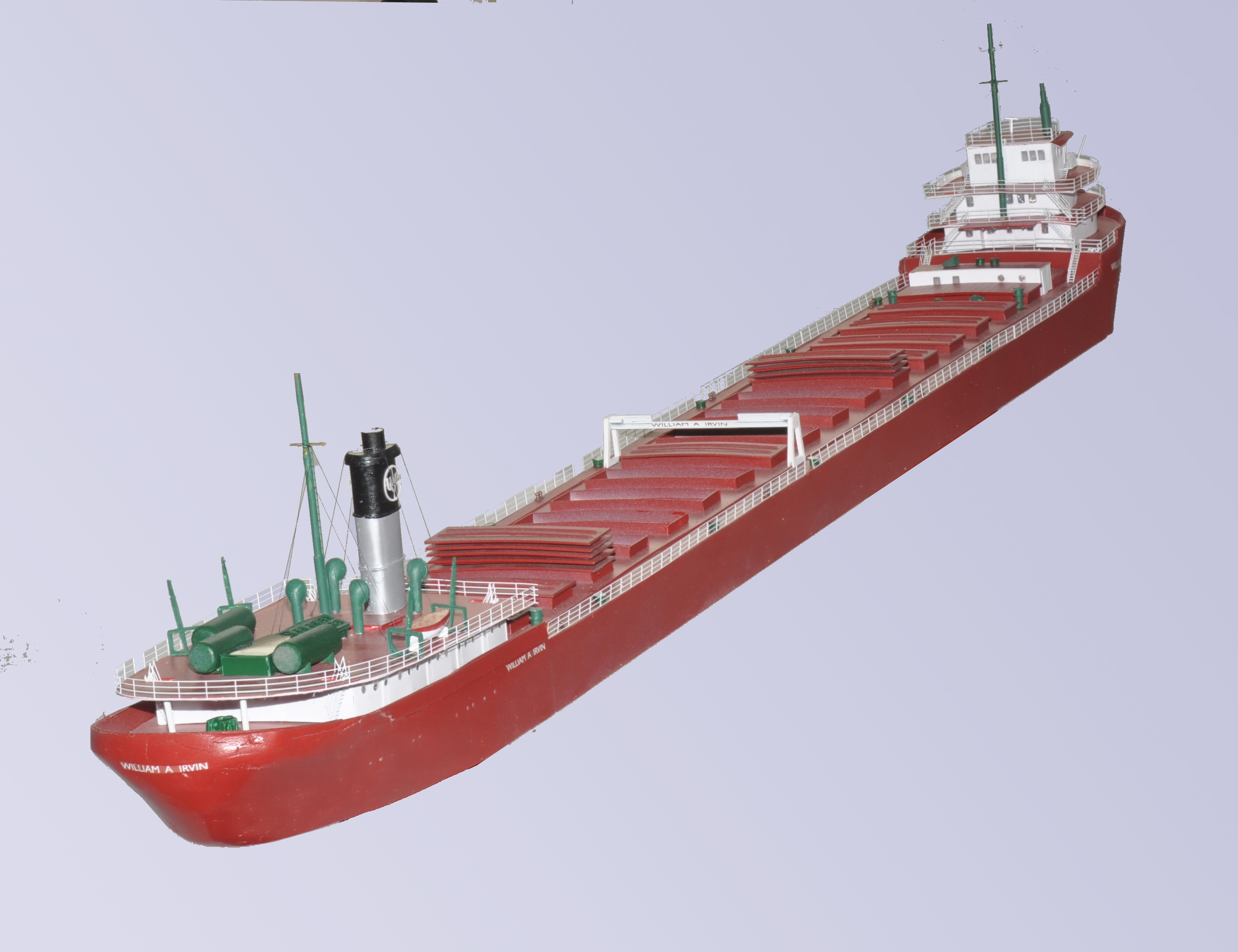 610 Great Lakes Bulk Freighter N Scale Ships