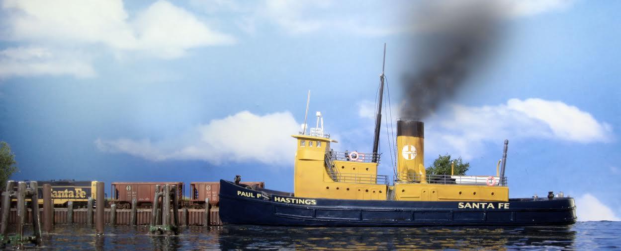Great Bridge Auto >> Large Santa Fe & PRR Tugs | N Scale Ships
