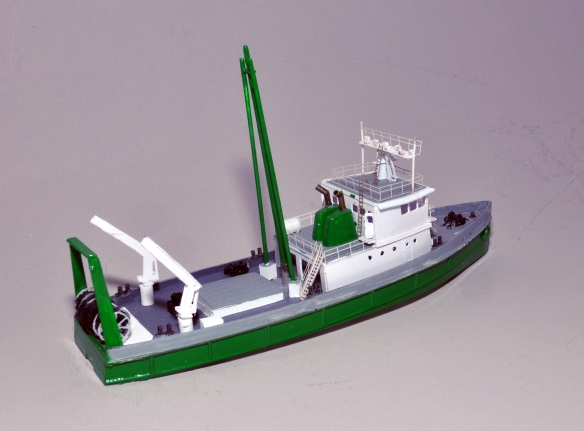 131' Fishing Trawler Lady Greenenough | N Scale Ships