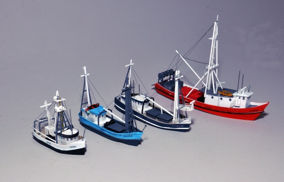 How to Make Completed Models Unique | N Scale Ships
